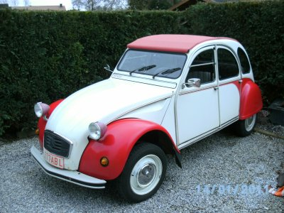 a vendre citroen 2cv s rie sp ciale dolly ma 2cv dolly. Black Bedroom Furniture Sets. Home Design Ideas