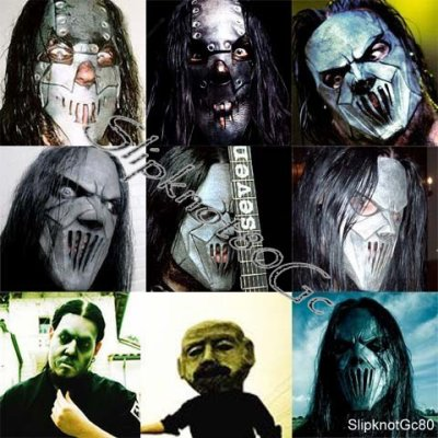 slipknot mask evolution traffic club